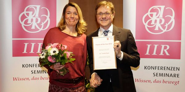 Carola Payer – Nominierung zum Speaker & Trainer of the Year