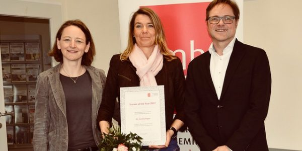 Ehrung zum Trainer of the year 2017